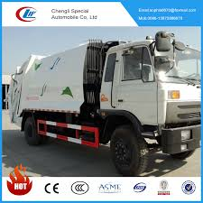 100 Rubbish Truck Dongfeng 12cbm Urban Garbage Compactor 12000l Waste Compressed