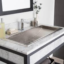 Small Trough Bathroom Sink With Two Faucets by Bathroom Sink Bathroom Sink Bowls Double Bathroom Sink Utility