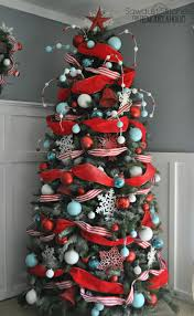 Raz Christmas Trees 2011 by Christmas Tree Ribbon Decorating Christmas Lights Decoration