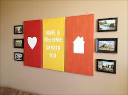 Canvas Wall Art Quotes Diy Room Decor Unique Home Ideas