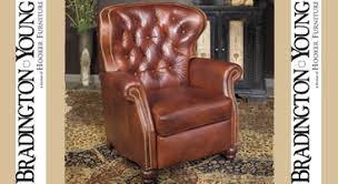 bradington young leather furniture at leathershoppes com