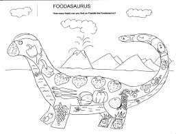 Food Group Coloring Pages 13 Page