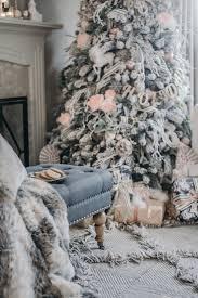 Grandin Road White Christmas Tree by Here Comes Santa