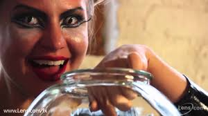 Theatrical Contacts No Prescription by Cat Eye Contact Lenses At Lens Com Youtube
