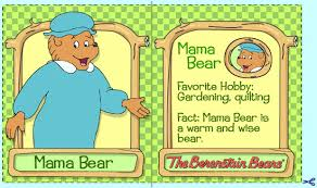 Mamas Trading Card Other Cards Print Out Mama Bears