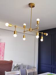 DIY Modern Light Fixtures