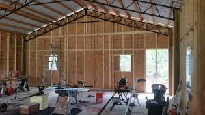 Hanging Drywall On Ceiling Trusses by Trusses Archives Hansen Buildings
