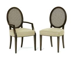 Oval Dining Chairs Back Chair White