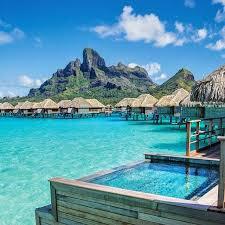 Bora Honeymoon Destination Huts On Water