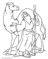 Online Bible Coloring Book Pictures
