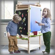 Toddler Easels U0026 Art Desks by Deluxe Learn And Play Art Center Easel