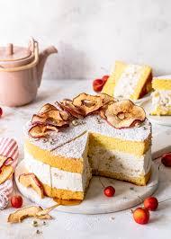 bratapfel käse sahne torte