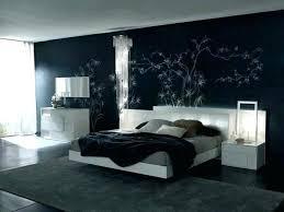 schlafzimmer bett schwarz weisse mobel welche wandfarbe