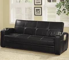 Serta Convertible Sofa With Storage by Sofa Bed With Storage And Cup Holders