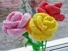 Floral Craft And The Could Maybe Help You To Decorate Your Home Or Improve Economy More Let Us Done Some Steps Make Flowers From Paper