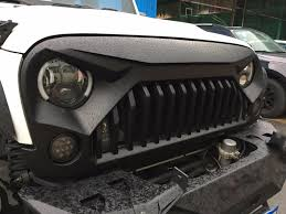 Jeep Wrangler Monster Grill - Auto-Line