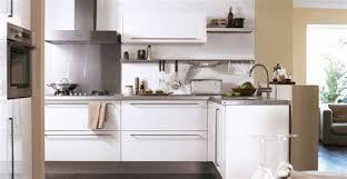 cuisine blanche pas cher superior cuisine blanche et marron 2 cuisine hygena city
