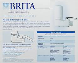Brita Faucet Filter Replacement Instructions by Top 18 Faucet Water Filters