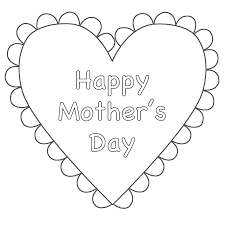 Excellent Mothers Day Coloring Pages Colorings Design Ideas