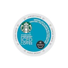 KeurigR K CupR Pack 16 Count StarbucksR Sweetened Iced Coffee