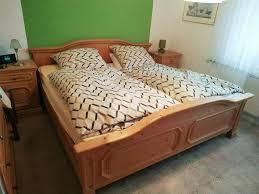 schlafzimmer echtholz buche komplett bett kleiderschrank kommode