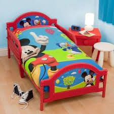 zspmed of mickey mouse toddler bed set