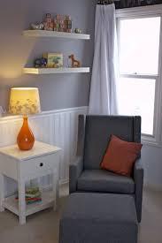 Orange Gray and White Nursery Room Project Nursery