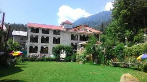 Picture of hotel from it s front orchard garden The Orchard