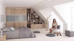meuble pour chambre mansard rangement chambre mansardee idées décoration intérieure farik us