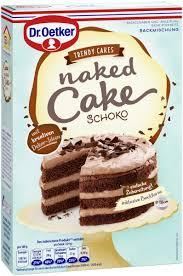 dr oetker cake schoko