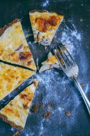 tarte chèvre pommes oignons caramélisés pâte à l huile d olive