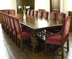 Formal Dining Room Sets For 12 Seat Set Full Size Of Person Table 0