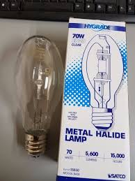 satco s5835 1000 watt metal halide hid mogul base bt56 clear