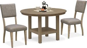 Tribeca Round Dining Table And 2 Upholstered Dining Chairs - Gray 10 Upholstered Ding Chairs Cabriole Legs Lloyd Flanders Round Back Wicker Chair Arenzville Mahogany Wood Pedestal Table With 6 Set Pre Order Aria Concrete Granite Ding Table 150cm 4 Jsen Leather Chair Package Small In White Velvet Pink Rhode Island Kaylee Bedford X Rustic 72 With 8 Miles Round Ding Suite Alice Chairs A334b 1pc And A304 4pcs Patrick Milner Modern Dinette 5 Pieces Wooden Support Fniture New Tyra Glass On Gloss Latte Nova Seater
