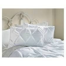 Bed Cover Sets by Pinch Pleat Duvet Cover U0026amp Sham Set Threshold