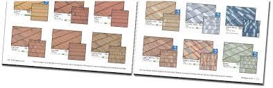 brochure layout roof tile