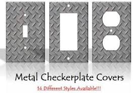 Image Is Loading Harley Davidson Inspired Metal Light Switch Covers Handmade