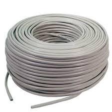 Cable Red Utp Cat 5e Bobina Caja 100 Metros Para Rj45 $ 235 00
