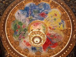 ceiling dome palais garnier the opéra de dome painting