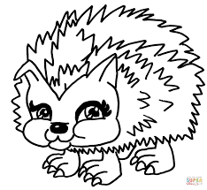 Pets From Monster High Coloring Pages