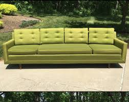 Danish Modern Sofa Sleeper by Vintage Furniture Etsy