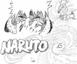 Coloriage De Naruto Hokage BonneColoriage