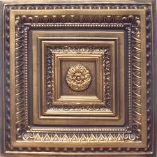 24 x24 brilliance accent gold white pvc 20mil ceiling tiles