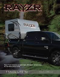 Rayzr Truck Camper Floor Plans - Travel Lite RV Travel Trailers And ...