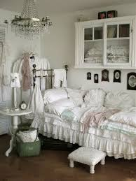 Small White Chic Bedroom