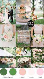 Garden Wedding Palette Blush Pink Weddinggarden Ideasoutdoor Ceremony