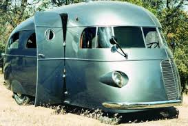 I Originally Included A Picture Of This Vintage RV Just Because Love The Futuristic Look Smooth Lines And Wrap Around Windshield