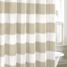 a taupe and white striped pattern makes this neutral shower