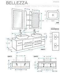 Ada Bathroom Counter Depth by Bathroom Vanity Measurements Adorable Bathroom Vanities Plans And