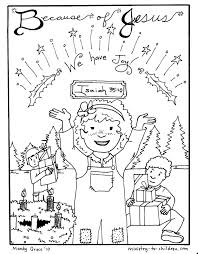 Advent Coloring Pages Quotjesus Brings Joyquot Free Printables